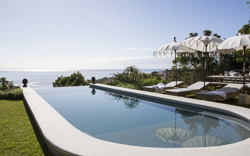Lookout House, Luxury Accommodation, Plettenberg Bay, tranquil pool with a spectacular view