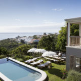 Lookout House, Luxury Accommodation, Plettenberg Bay, unusual poolside furniture