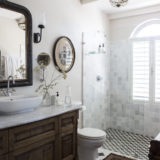 Lookout House, Luxury Accommodation, Plettenberg Bay, vintage style bathroom