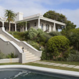 Lookout House, Luxury Accommodation, Plettenberg Bay, steps down to the lush garden and pool