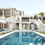 Lookout House, Luxury Accommodaton, Plettenberg Bay, in all its glory, viewed from the swimming pool