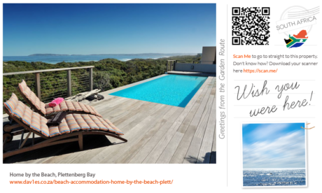 Wish you were here at Home by the Beach, Keurbooms, Plett