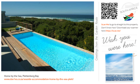 Wish you were here at Home by the Sea, Keurbooms, Plett