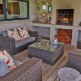 Home by the Beach, Plettenberg Bay, Beach Accommodation, outside lounge