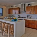 Home by the Sea, Kitchen showing breakfast counter