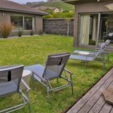 Blue Horizon, Knysna, Golf Estate Accommodation, Safe, quiet courtyard garden area