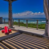 Home by the Beach, Keurboomstrand, Plettenberg Bay, Beach Accommodation, Day bed upper deck