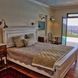 No 1 Riverclub, Golf Estate Accommodation, Simola, Knysna - Apartment Bedroom 1 - Poolside