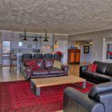 No 1 Riverclub, Golf Estate Accommodation, Simola, Knysna - Apartment Lounge