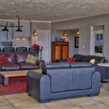 No 1 Riverclub, Golf Estate Accommodation, Simola, Knysna - Apartment Lounge & Kitchen