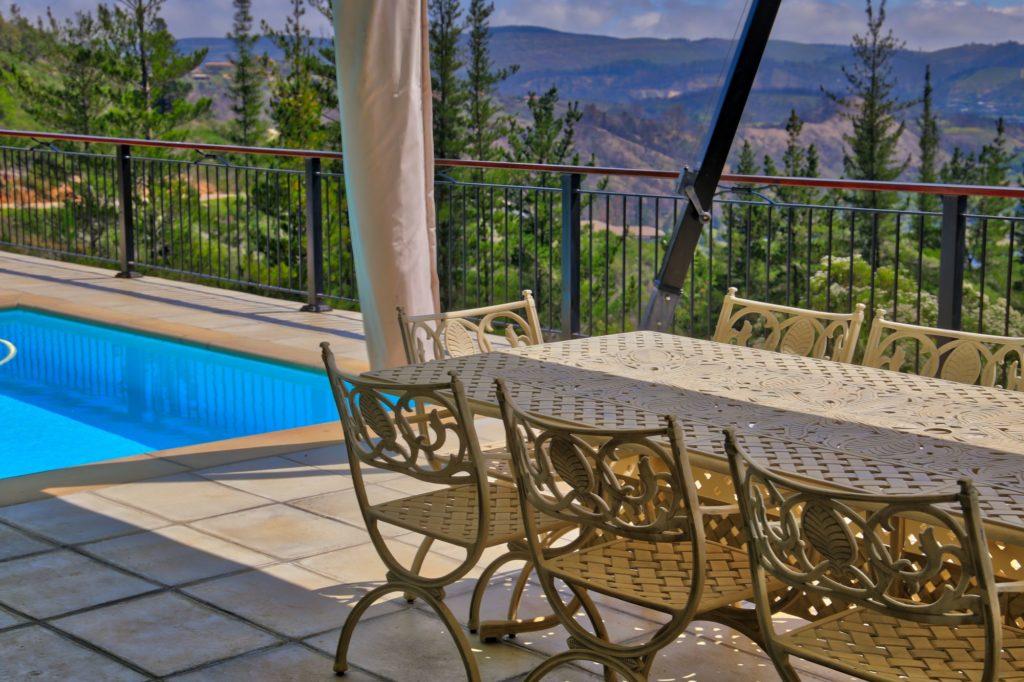 No 1 Riverclub, Simola, Golf Estate Accommodation, Downstairs, Swimming Pool Area