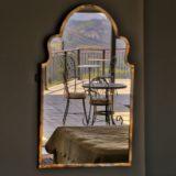 No 1 Riverclub,Golf Estate Accommodation, Simola, Knysna - Penthouse Main Bedroom reflection of balcony