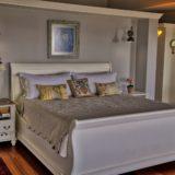 No 1 Riverclub, Golf Estate Accommodation, Simola, Knysna - Upstairs Main Bedroom - easy access