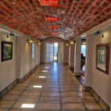 No 1 Riverclub, Simola, Golf Estate Accommodation, Main Front Entrance, Beautifully designed passageway