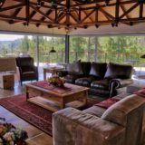 No 1 Riverclub, Simola, Golf Estate Accommodation, Upstairs Main Lounge area with 360 views