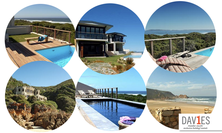 Relax in luxury at one of our houses after a day of adventure on the garden route