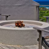 Beachscape, Keurboomstrand, Plettenberg Bay, Fire Pit on the Pool Deck