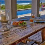 Beachscape, Keurboomstrand, Plettenberg Bay, Unusual rustic outdoor dining area