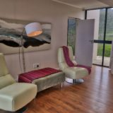 Home by the Sea, Keurboomstrand, Seaside Accommodation, master suite library corner