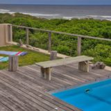 Home by the Sea, Keurboomstrand, Seaside Accommodation, lawn area at the pool