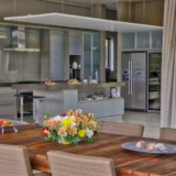 Blue Horizon, Knysna, Golf Estate Accommodation, Open plan Kitchen Dining Room