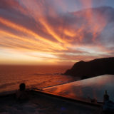 Cliff House, Seaview Accommodation, Knysna, View at sunset