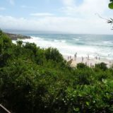 Beach Cove Villa; sea view accommodation Plett, view from the deck
