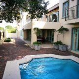 Beach Cove Villa, sea view accommodation Plett, pool and braai area