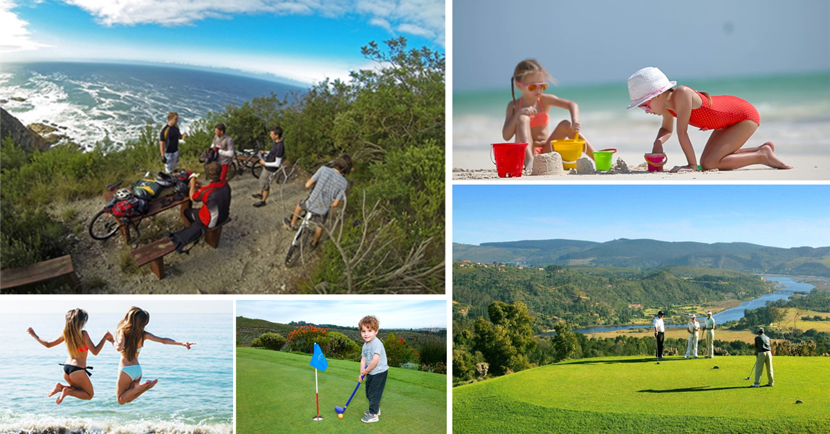 Golfing on the Garden Route - holidays for the whole family