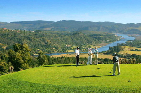 Simola golf estate - one of the best for golfing on the garden route
