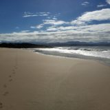 Beach Cove Villa, sea view accommodation Plett, sunset on the beach