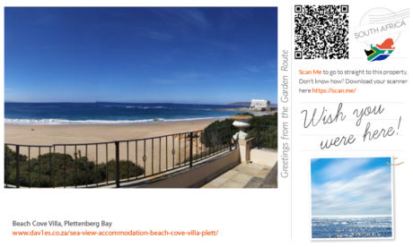 Beach Cove Villa Plett - Wish you were here!