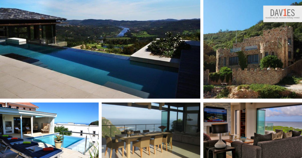 Relax in luxury at one of these houses after a day of adventure on the garden route