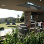 The Light House - Holiday Accommodation - Internal gardens and outdoor dining